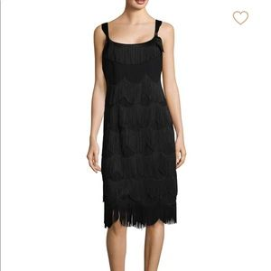 Marc Jacobs Fringe Embroidered Cocktail Dress NWT